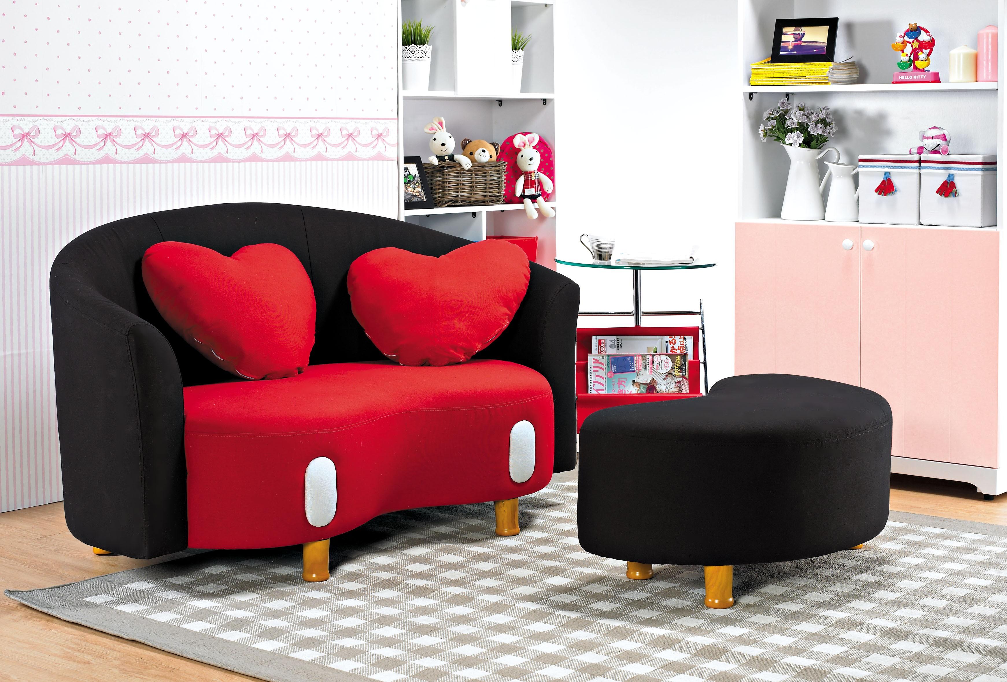 (1076)歡樂世界造型小沙發