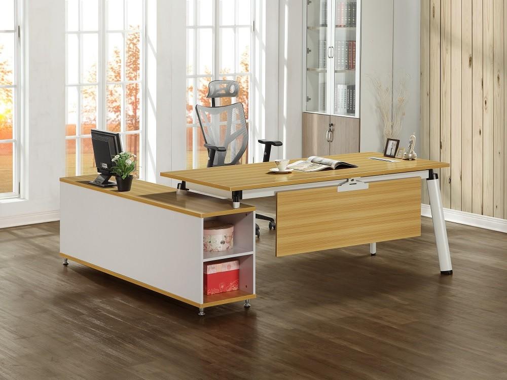 提姆6.6尺辦公桌組(含側櫃)