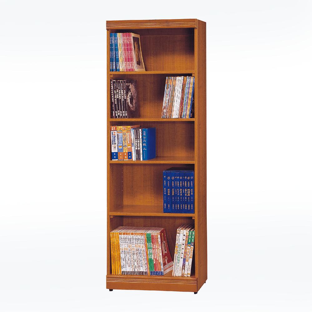 2X6尺柚木書櫃