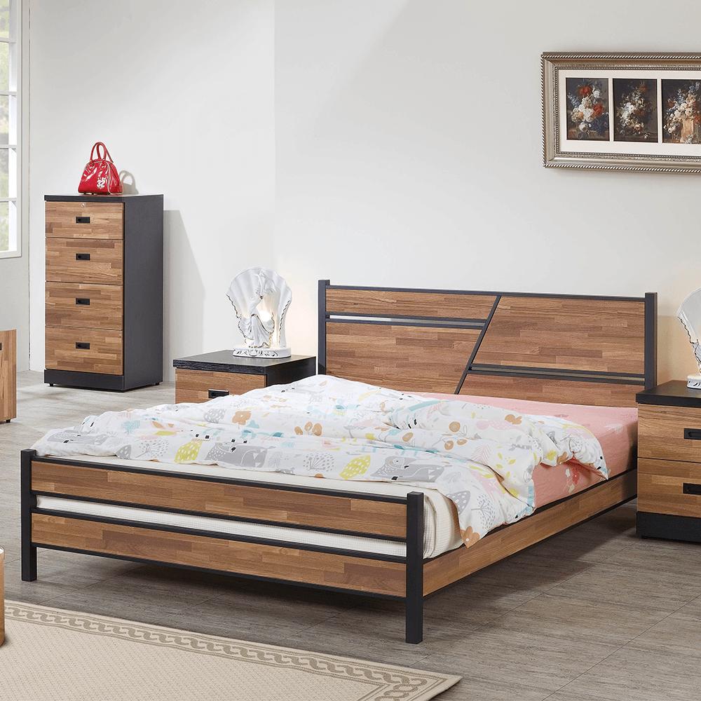 A126積層木6尺雙人床 (床片型)