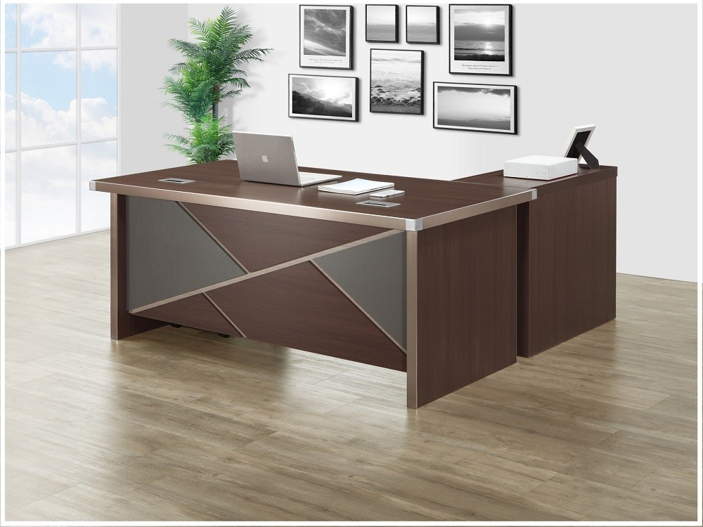 伯特6尺辦公桌組(含側櫃,活動櫃)