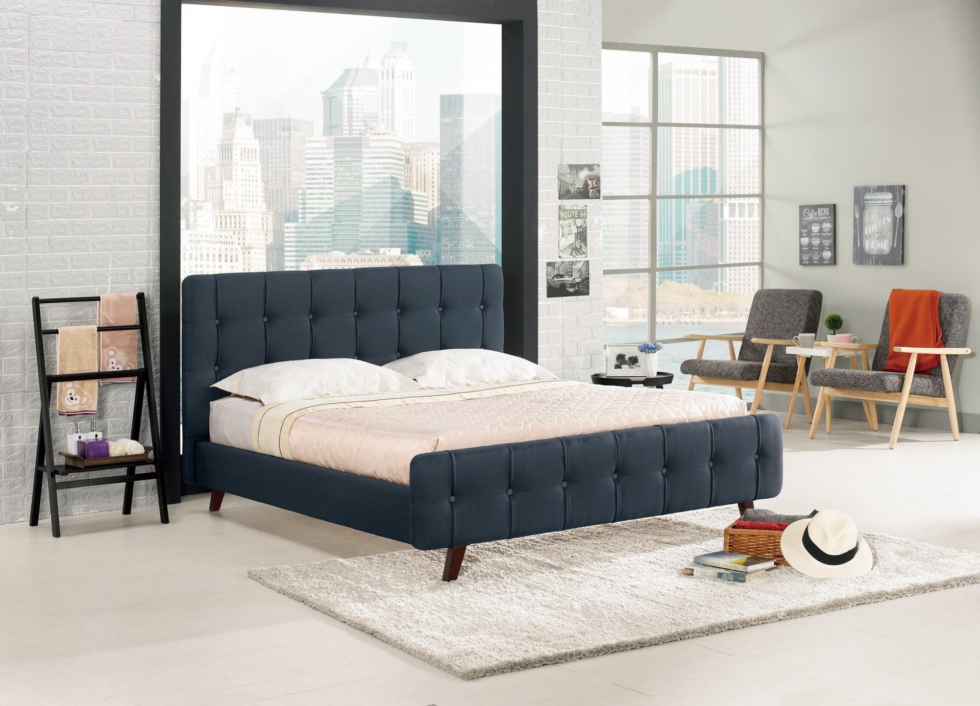 亞曼6尺雙人床(共兩色)