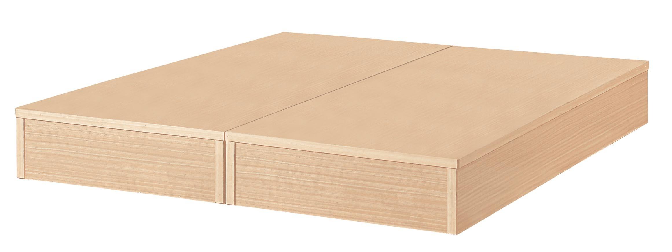 5尺白橡色六分板床底
