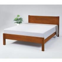1848型馬丁5尺實木雙人床