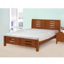 1837型妮可5尺實木雙人床