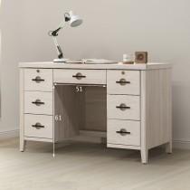 亞道夫洗白4.2尺書桌/辦公桌(T123)