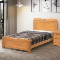 莉莎3.5尺實木單人床