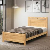 諾拉3.5尺實木單人床