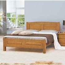 東尼5尺實木雙人床
