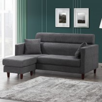 卡洛L型布沙發