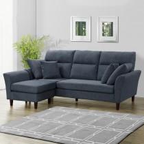 戴爾L型布沙發