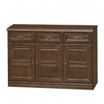 966型胡桃色4尺餐櫃/碗盤櫃(下座)