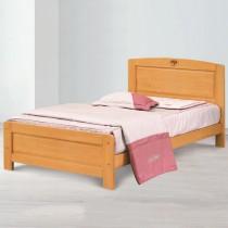 歌莉雅檜木色3.5尺單人床