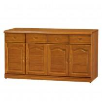 967型樟木色5.3尺餐櫃/碗盤櫃(下座)