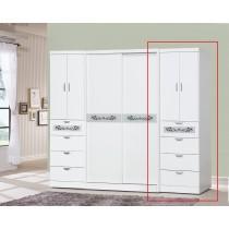 亞柏2尺四抽衣櫥(315-1)(單只)