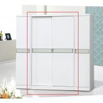 亞特白色4尺衣櫥(815)