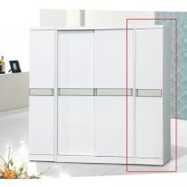 亞特白色1.32尺衣櫥(815-2)(右桶)