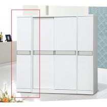 亞特白色1.32尺衣櫥(815-1)(左桶)