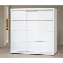 T65-3純白鋁條7尺衣櫥