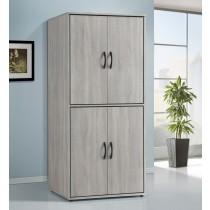 依琳2.5尺雙吊衣櫥/衣櫃