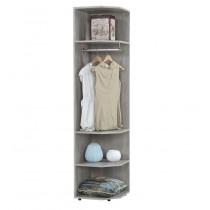 依琳1.5尺開放式衣櫥/衣櫃