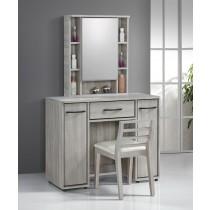 依琳3.2尺化妝台/鏡台(含椅)