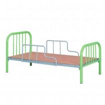 單人綠色鐵床T1-19