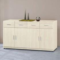 凱野白雪杉5.3尺餐櫃/碗盤櫃