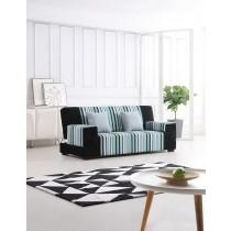 Louis 路易士(黑藍)沙發床