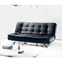 2002型黑皮沙發床