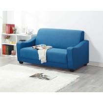 990布沙發床藍