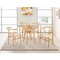 凱伊2.3尺休閒桌(1桌4椅)