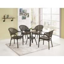 麥倫休閒桌(1桌4椅)