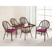 吉爾休閒桌(1桌2椅)