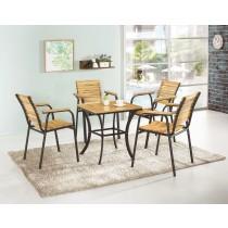 艾格絲休閒桌(1桌4椅)