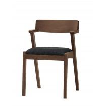 卡文餐椅(布)(實木) (1入)