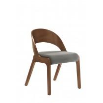多瑪士餐椅(布)(實木)(1入)