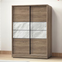 北海道古橡色5X7尺衣櫃(2002)