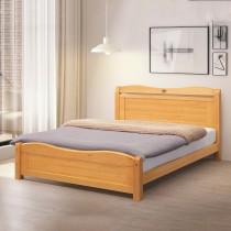 潔西5尺雙人床(5分實木床板)