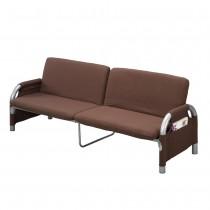 雙人坐臥兩用沙發床(咖)(S085)
