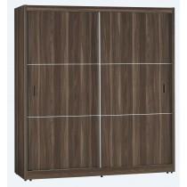 傑尼斯胡桃6x7尺衣櫥(S-058)