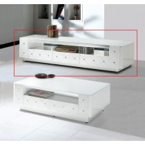 (D07)6.6尺白色電視櫃