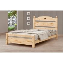 3.5尺松木單人床