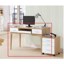 金思涵4尺電腦桌(814)(不含活動櫃)