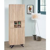 北原橡木2尺書櫃