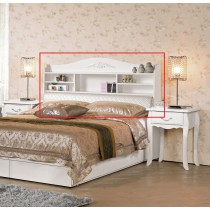 仙朵拉5尺書架型床頭箱(566)