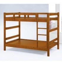凱斯3.5尺淺胡桃色雙層床