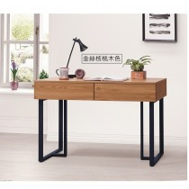 酷樂4尺二抽書桌(共四色)