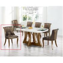 A47人造石餐桌椅(1桌6椅)