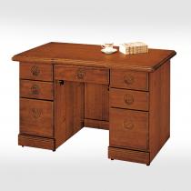 古典香檜4.2尺辦公桌